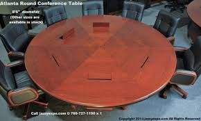 fancy round conference table for 6 with s797259073891272272p35i5w640