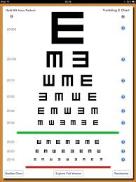 Turn Your Ipad Into Eye Testing Chart Snellen Chart