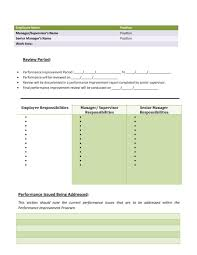 Personal Improvement Plan Template Download Performance Improvement Plan Template 41 How To