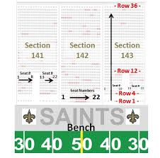 Seating Chart Superdome New Orleans Mercedes Benz Superdome Tickets No Service Fees