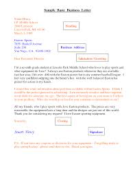6 Best Images Of Scholastic Business Letter Format School