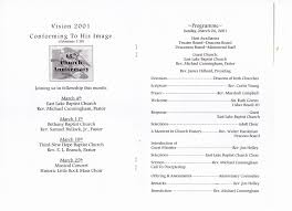 Templates For Church Programs Free Church Programs Template Stanley Tretick