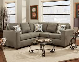 onyx fabric sectional sofa w 3 pillows made in usa