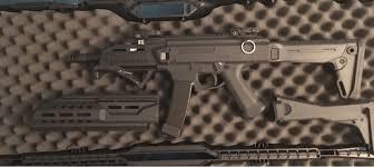 sold custom asg scorpion evo 3 a1 smg