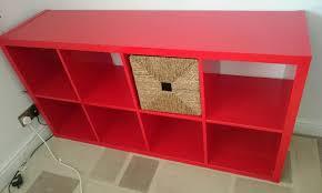 red high gloss furniture. ikea high gloss red kallax shelving unit storage with basket furniture