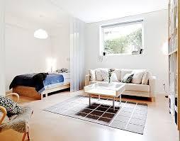 Small Apartment Bedroom Living Room Combination