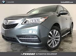 2015 Used Acura MDX FWD 4dr Tech Pkg at BMW of Gwinnett Place ...