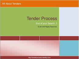 Construction Rfi Process Flow Chart Tender Process A Complete Procurement Guide