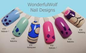 Nidoking Evolution Chart Nidoking Nail Art Wonderfulwolf