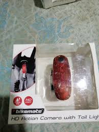 Bikemate Rear Light Camera Bikemate Bike Tail Light W Hd Camera On Carousell