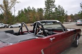 1965 67 Ford Mustang Convertible Bolt In Four Point Roll Bar