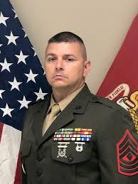 Inspector-Instructor First Sergeant, Kilo Battery, 2nd Battalion ...