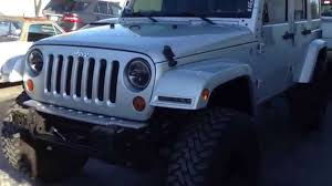 jeep jk smooth and painted mirrors with aev lift pt 1