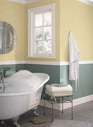 Benjamin Moore Off Whites Yellow Bathroom Ideas Cheerful Yellow Bathroom Paint Color Schemes