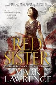 red queen book cover red sister book of the ancestor 1 by mark lawrence of red