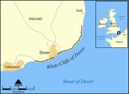 analysis of dover beach by matthew arnold writework the location and extent of the white cliffs of dover