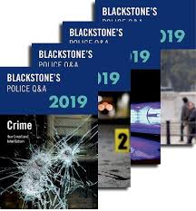 Inspector Watson S Chart Answers Blackstones Police Q A Four Volume Pack 2019 Amazon Co Uk