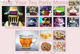 The first algorithmic coffee meme on this list. My Tea Party Meme Star Fox Version By Zirajohnson On Deviantart