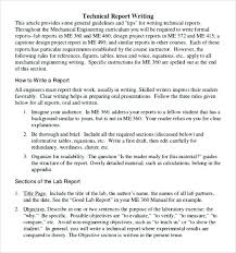 Sample Report Format Template Harriscatering Info