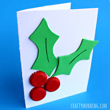 Easy Christmas Cards For Children To Make  NurtureStoreChristmas Card Craft For Children