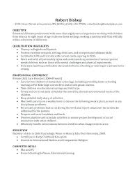 Nanny Resume Example Delectable Nanny Resume Example Eukutak