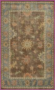 jarvis rust blue rug rug size runner 2 6