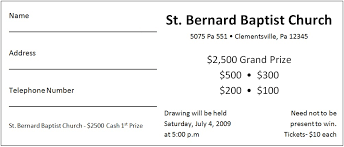 Draw Tickets Template Free Printing Raffle Tickets Free Download Them Or Print