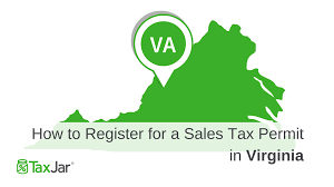 Virginia Sales Tax 2014 Chart How To Register For A Sales Tax Permit In Virginia