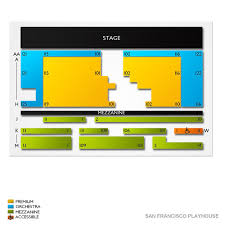 6th Street Playhouse Seating Chart San Francisco Playhouse 2019 Seating Chart
