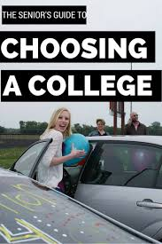the high school senior s guide to choosing a college from choose the right