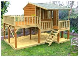 full size of childs outdoor playhouse plans free for backyard play house elevated from guides architectures
