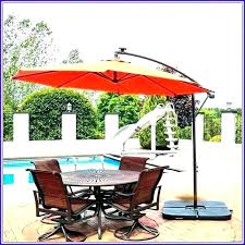 ft patio umbrella replacement canopy garden treasures offset winds cantilever simply shade post led with