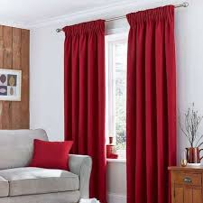 Excellent Design Ideas Red Curtains For Bedroom Living Room Decorating