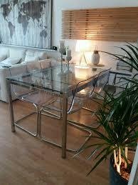 ikea glivarp extendable table 4 tobias chairs rrp 470 excellent condition