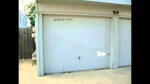 How To Secure Old Wood Garage Doors - Home Security - YouTube