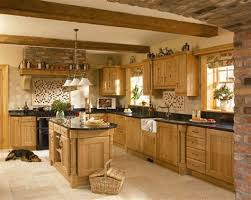 oak country kitchens. Brilliant Country Country Style In Light Oak Kitchen Cabinet Designs 25 Best With Oak Kitchens