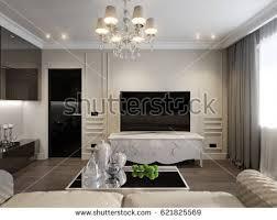 interior design living room classic. Modern Classic New Traditional Living Room Interior Design With Gray Brown Glossy Chrome Furniture TV Area