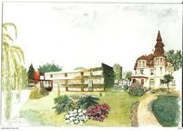 faches thumesnil clinique la maison fleurie vieille carte postale
