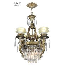 living gorgeous antique crystal chandelier appraisal 25 modest french 4 arm figural ceiling light fixture ant