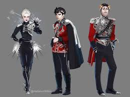 if you don t know melliescribles she s an amazing artist who has drawn the red queen characters i will give some of her art below