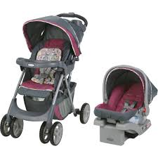 graco comfy cruiser click connect stroller travel system with