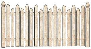 picket fence drawing. Garden Style Gothic Picket Fence Picket Fence Drawing I