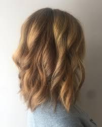 Medium Length Hairstyles Women Blonde Mid Length Haircut