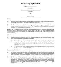 5.3 the company may terminate this agreement at any time and for any reason with x working day's written. Consulting Contract Examples To Use For Your Business