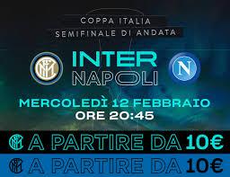 Inter-Napoli, è iniziata la vendita libera!