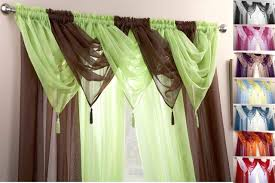 valance swag curtains ds