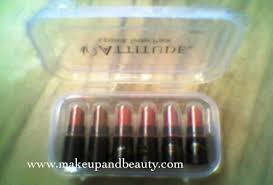 amway atude lipstick tester pack