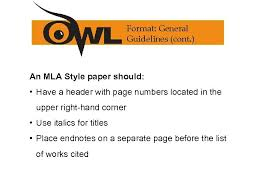 Mla 8 Th Edition Formatting And Style Guide