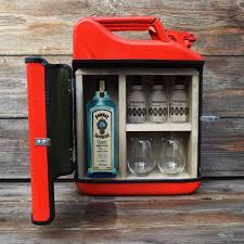 Jerrycan Kanister Die Mobile Gin Bar