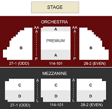 Fox Theater Riverside Seating Chart 65 Timeless New Theatre Seating Chart